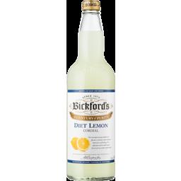 Photo of Bickford's Cordial Diet Lemon 750ml