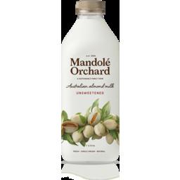 Photo of Mandole Orchards Almond Milk Unsweetened 1ltr