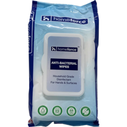 Photo of Homeforce Anti-Bacterial Wipes 80 Pack