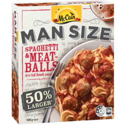 Photo of Mcc M/Sze Spag/Meatball 500gm