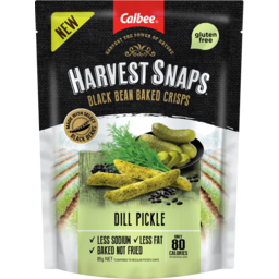 Photo of Harvey Snaps Black Bean Dill Pickle 85g