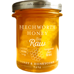 Photo of Beechworth Raw Honey & Honeycomb 240g