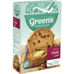 Photo of Greens Traditional Moist Date Loaf 415g