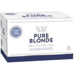 Photo of Pure Blonde Bottle 355ml 24 Pack