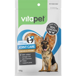 Photo of Vitapet Joint Care Chicken & Veggie Treat 100g