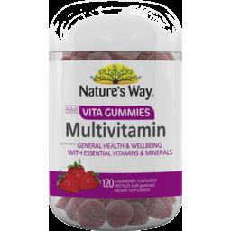 Photo of Nature's Way Adult Vita Gummies Multivitamin 120's