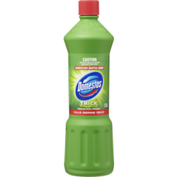 Photo of Domestos Disinfectant Bleach Toilet Cleaner Mountain Fresh 1.25l