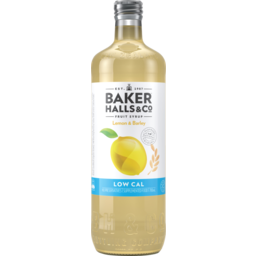 Photo of Baker Halls Fruit Syrup Low Calorie Lemon Barley 700ml