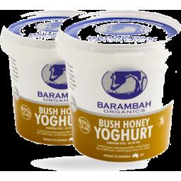 Photo of Barambah Organics Bush Honey Yoghurt