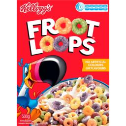 Photo of Kelloggs Froot Loops 500g