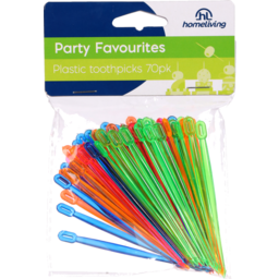 Photo of Homeliving Toothpicks Plastic 70 Pack