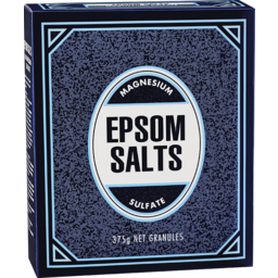 Photo of Epsom Salts 375gm
