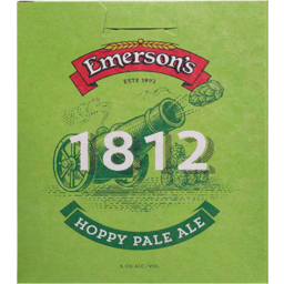 Photo of Emersons 1812 P/Ale 330ml 6 Pack