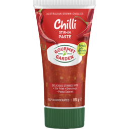Photo of Gourmet Garden Chilli Paste 80gm