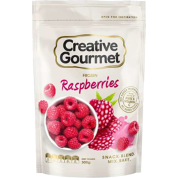 Photo of Creative Gourmet Raspberries 300gm