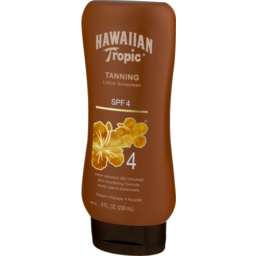 Photo of Hawaiian Tropic Tanning Lotion Sunscreen Spf 4