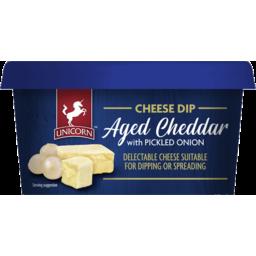 Photo of Unicorn Chees Dip Aged Cheddar & Onion 150gm