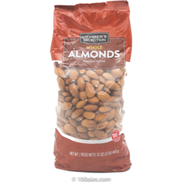 Photo of Mebers Selection Whole Almonds
