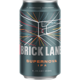 Photo of Brick Lane Supanova Ipa Can