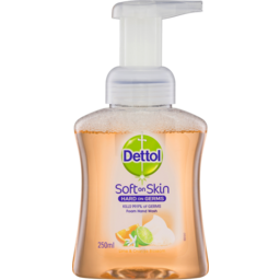 Photo of Dettol Fhw Lime Orange Pump 250ml