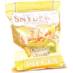 Photo of Synder's Cheddar Cheese Pretzels