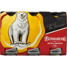 Photo of Bundaberg Red Rum & Cola Cans