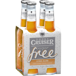 Photo of Vodka Cruiser Free Citrus 4 Pack 275ml