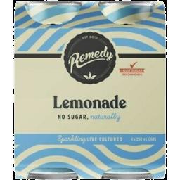 Photo of Remedy Lemonade 250ml 4pk