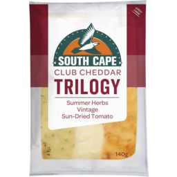 Photo of South Cape Trilogy Summer Herb, Vintage & Sun-dried Tomato 140gm