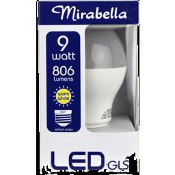 Photo of Mirabella Led Gls Edison Screw Pearl Cw 9w