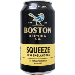 Photo of Boston Brewing Squeeze Neipa Can
