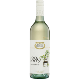 Photo of Brown Brothers 1889 Pinot Grigio 2016ml