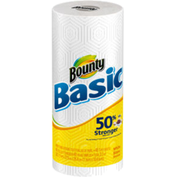 Photo of Bounty Basic Paper Towel White