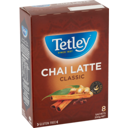 Photo of Tetley Chai Latte Classic 8 Each