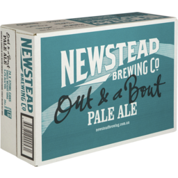 Photo of Newstead Pale Ale Cans