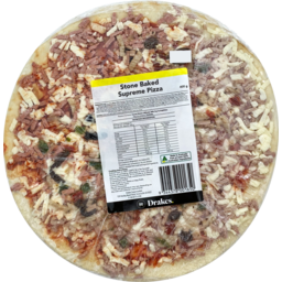 Photo of Drakes Stone Baked Supreme Pizza 400g