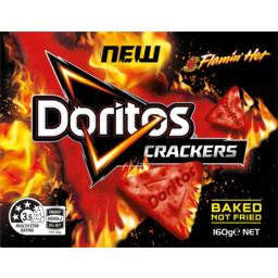 Photo of Doritos Crackers Flamin Hot 160g