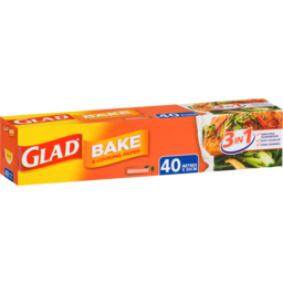 Photo of Glad Bake & Cooking Paper 40m X 30cm