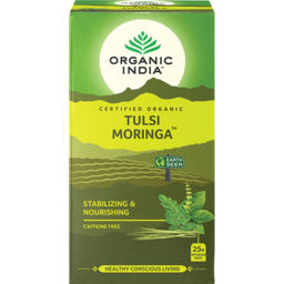 Photo of Organic India - Tulsi Moringa - 25 Tea Bags