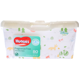 Photo of Huggies Baby Wipes Fragrance Free Tub 80pk
