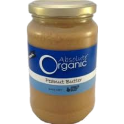 Photo of Absolute Organic Smooth Peanut Butter 340g