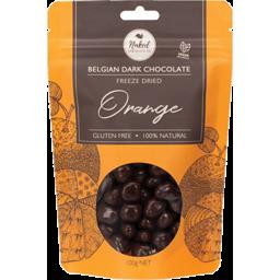 Photo of NAKED CHOCOLATE CO. Freeze Dried Orange Dark Chocolate