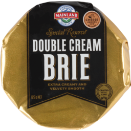 Photo of Mainland Cheese Special Reserve Double Cream Brie 125g