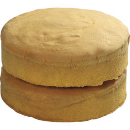 Photo of Unfilled Vanilla Sponge Cake 2 Pack 320g