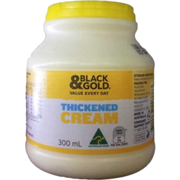 Photo of Black & Gold Thickened Cream 300ml