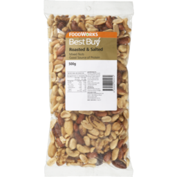 Photo of Best Buy Mixed Nuts Salted 500g