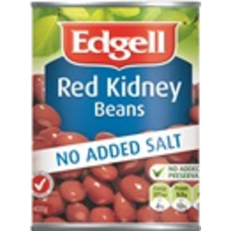 Photo of Edgell Kidney Beans Red NAS 400gm