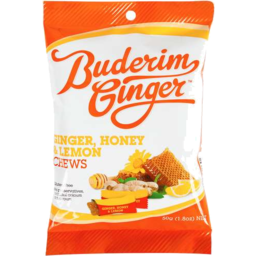 Photo of Buderim Ginger Honey Lemon Chew 50gm
