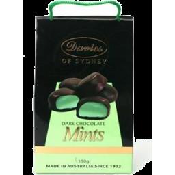 Photo of Davies Choc Mints Dark 150g