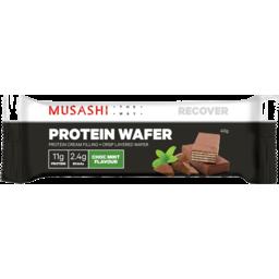 Photo of Musashi Musashi Choc Mint Protein Wafer Bar 40g